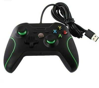 Wired Gaming Controller for Xbox One/ PC Black USA SELLER!
