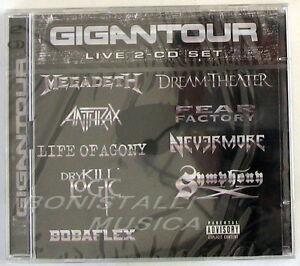 VARIOUS-ARTISTS-GIGANTOUR-LIVE-2-CD-Sigillato