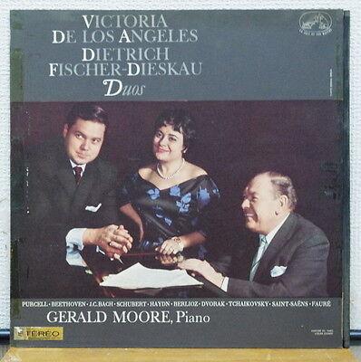 Asdf 264 Orig Fr Stereo Fischer Dieskau  Gerald Moore  De Los Angeles Duos