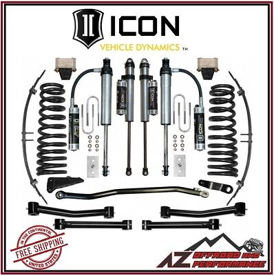 """ICON 2003-2008 Dodge Ram 2500 3500 4WD 4.5"""" Suspension System Stage 5"""