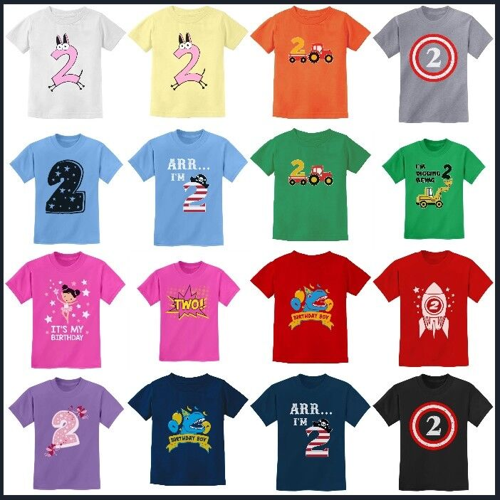 5db8baaa3 2nd Birthday Gif For Two Year For 2 Years Old Boy / Girl Toddler Kid ...