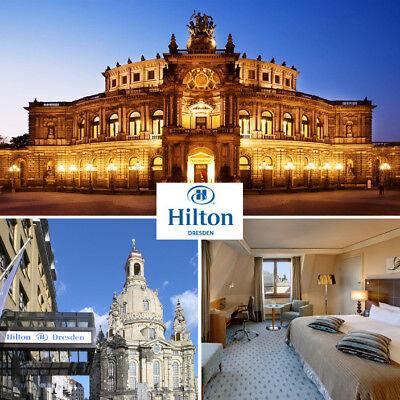 Dresden Hilton Hotel exklusive Städtereise 2 Personen Top Lage in der