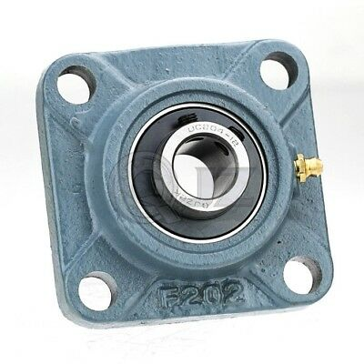 2.4375 In Square Flange Units Cast Iron Ucf212-39 Mounted Bearing Uc212-39f212