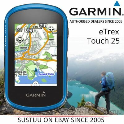 Garmin Etrex Touch 25 ¦ Exterior GPS de Mano º Glonass º Mapa Base Mundial º segunda mano  Embacar hacia Spain