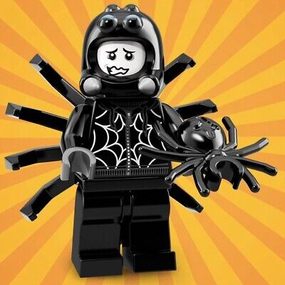 LEGO Minifigures Series 18 Party 71021 # 9 SPIDER SUIT GUY Brand New 40 Years