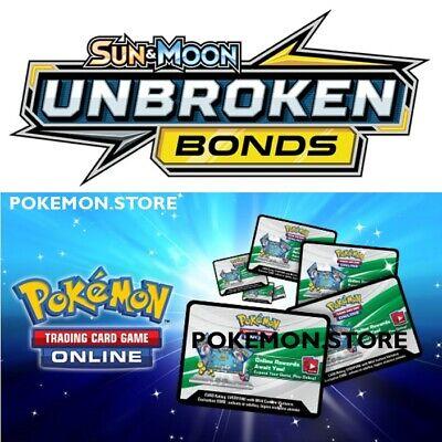 50 Unbroken Bonds Codes Pokemon TCG Online Booster - sent INGAME / EMAILED FAST!