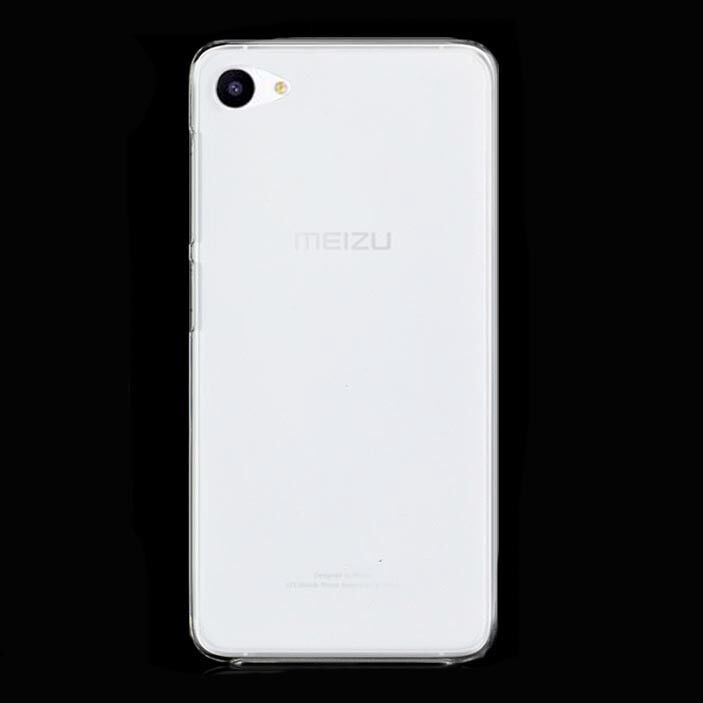 For MEIZU U10 U20 Crystal Clear Hard case DIY back cover