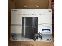 PS3 80GB, good condition, 1 controller, 5 free games