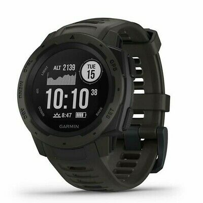 Garmin Instinct GPS Watch with Heart Rate Monitor - Graphite