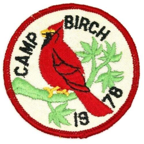 1978 Camp Birch Tecumseh Council Patch Boy Scouts BSA OH