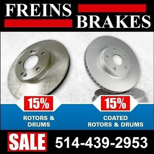 Buick Terraza ■ Freins et Disques • Brakes and Rotors