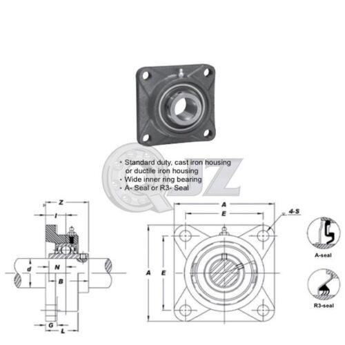 1.25 in 2-Bolts Flange Units Cast Iron HCFL206-20 Mounted Bearing HC206-20+FL206