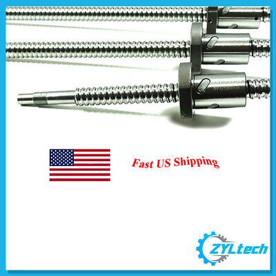 Zyltech Precision True C7 16mm 1605 Antibacklash Ball Screw W Ballnut 1000mm