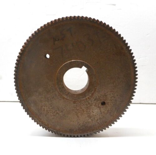 """RIGHT HAND HELICAL GEAR, 740373,11-3/4"""" OD,1-3/8"""" FACE, 105 THEETH"""