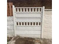 Column topper / gravel board / kick board