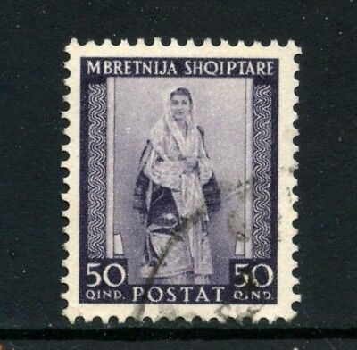 1939/40 - Albanien Italienisch - 50q. Kostüm Albanisch - Lotto Kostüm