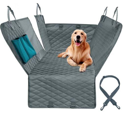 Pet Dog Transport Seat Hammock Cover Car Suv Back Rear Protector Mat waterproof