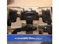Brand new in box Sega mega drive console 81 built in games