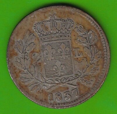 Lucca 2 Lire 1837 selten nswleipzig