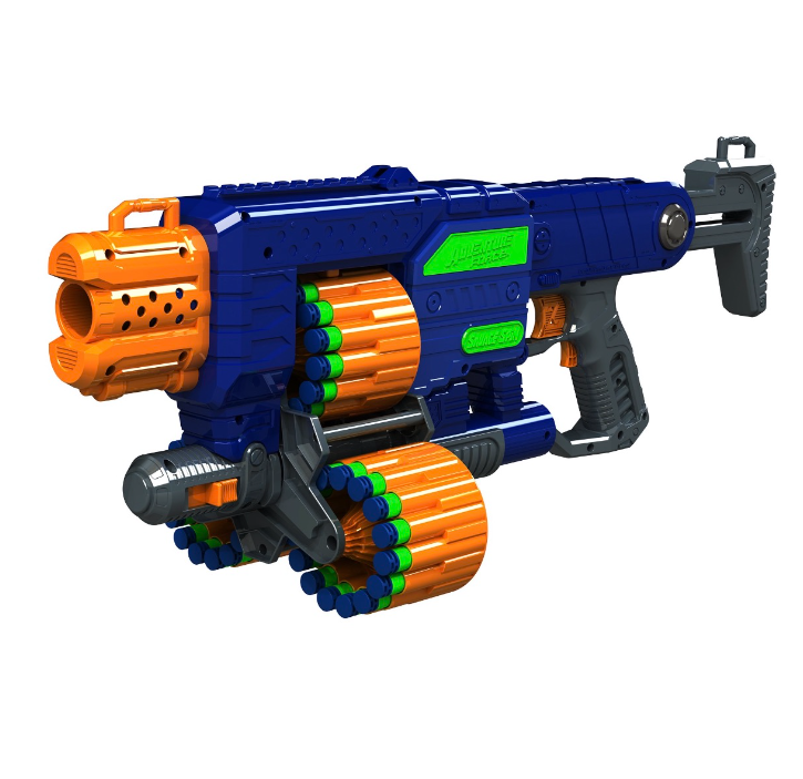 New Foam Dart Gun for Boys Includes 45 Nerf Darts Motorized