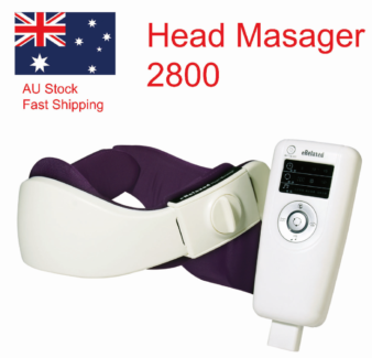 Electric Head Massager Brain Relax Easy --2800