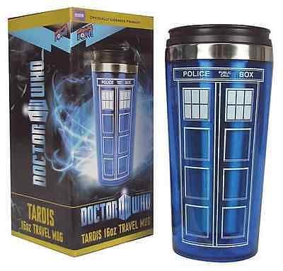 Doctor Who Travel Mug (Doctor Who Tardis Mug Police Box Cup Stainless Steel Vacuum Thermoses Travel)