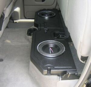 Subwoofer and amp for 02 GMC