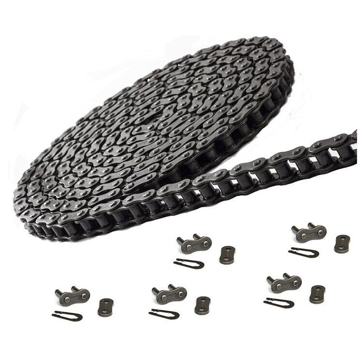 #40 Roller Chain 10 Feet with 5 Connecting Link