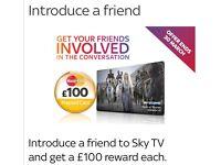 Sky Tv & get paid