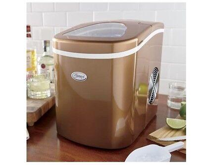 Ginny's Copper Ice maker - 26lb per day - ICG400-COPPER-GB