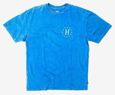 "HUF ""12 Galaxies"" Cloud Wash Unisex T-shirt, Blue, Size S - NEW"