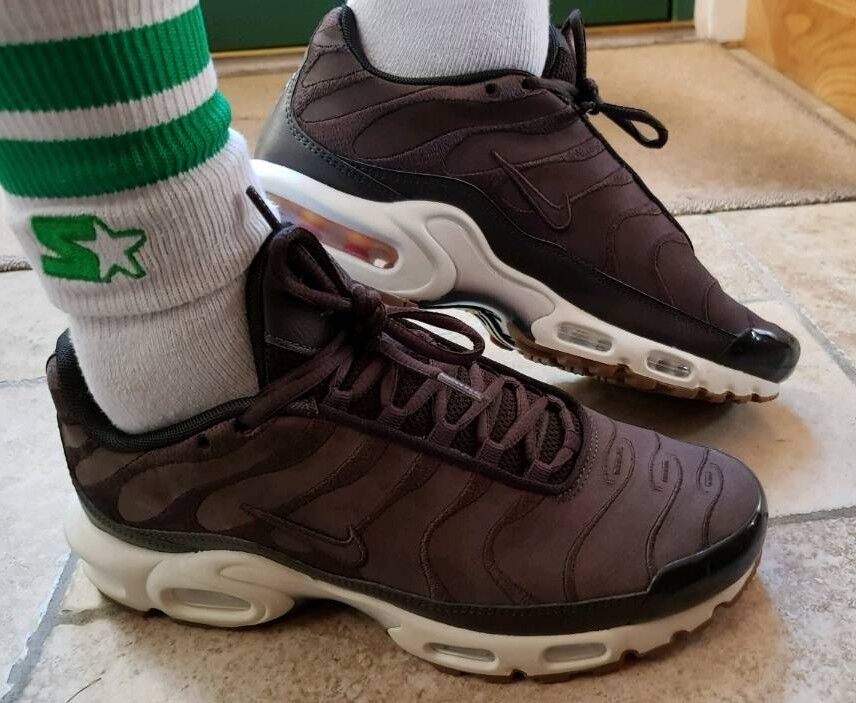 huge selection of 5348a 9452f ... Nike Air Max Plus TN Velvet Coffee Brown size 7.5 RARE DEADSTOCK ...
