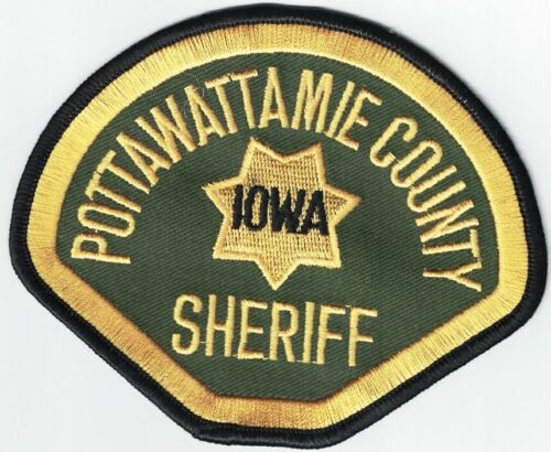 Pottawattamie County Sheriff Police Patch Iowa IA