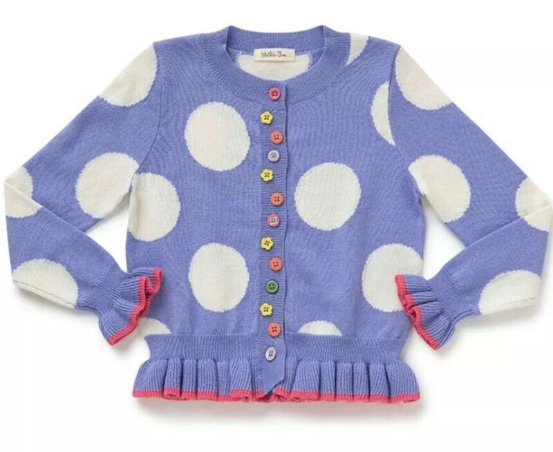 Girls Matilda Jane Lets Go Together As A Button Cardigan Size 4 NWT