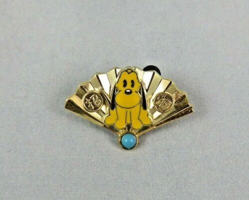 Japan Disney Store JDS Pin - Omikuji - Japanese Fan - Pluto