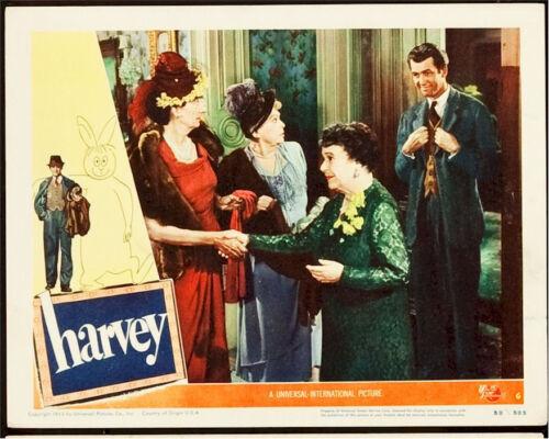 HARVEY, 1950 JAMES STEWART LOBBY CARD GROUP