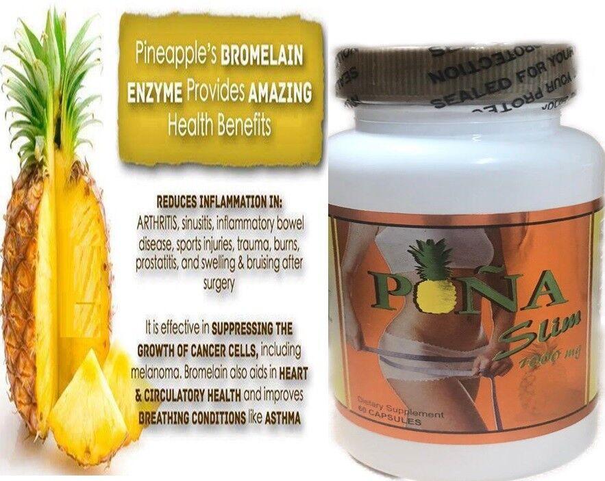 PINA s LIM CAPSULES 60 100% Original Pineapple Capsulas de Pina slim GNVida 1