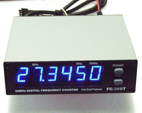 Workman/Bandit FC-30BT FREQUENCY COUNTER for CB and Amateur Radio Blue Display