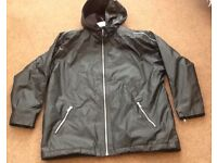 Age 11-12 boys black unworn coat