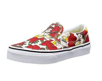 Vans Mädchen Gr. 34 Slip on, Sneakers, Disney Prinzessin NEU