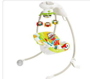 Baby swing (almost brand new)