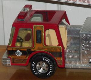 Camion de pompier fabriqué aux États-Unis