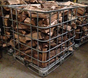 Great Steel Cage Wood Bin Inc. Premium Fire Wood - $150 For Both