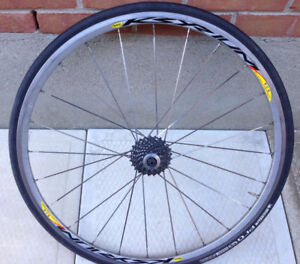 Mavic KSYZIUM Wheels with Tires and Cassette