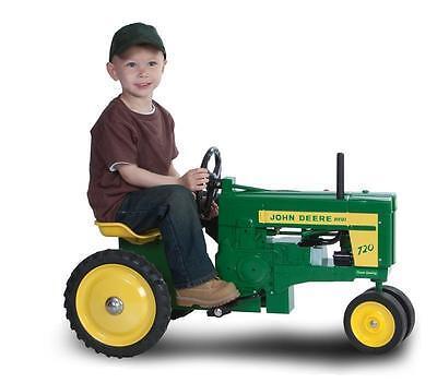 John Deere 720 Diesel Pedal Tractor NIB! Free Shipping!
