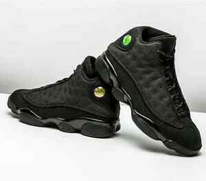 Air Jordan Black Cat 13's size 9, 9.5