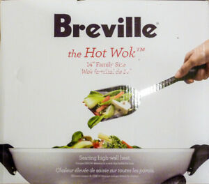 *NEW*Breville Large Capactiy Hot Wok-Non Stick-Easy Clean