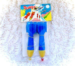 Vintage Rocket Darts Toy Sealed New In Package 80s Retro