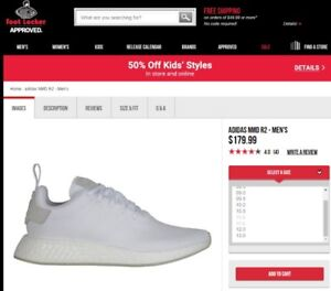 Adidas NMD R2 (White) (Size11) - Brand New