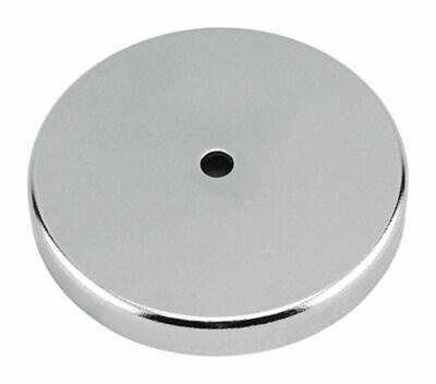New Master Magnetic 7216 15lb 1 12 Lift Round Magnet Base 9339888